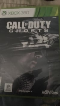 Call of Duty Ghosts Xbox 360 game case Fontana, 92336