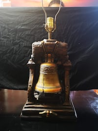 Beautiful 15 lb Liberty Bell Lamp