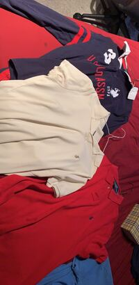 Selling all three authentic polo shirts