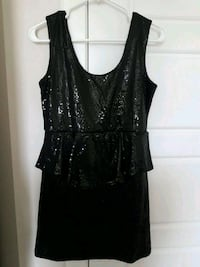 Black sequins mini dress Calgary, T3N 0E4