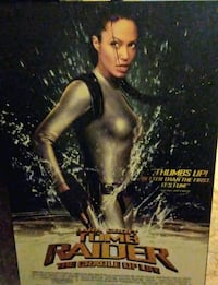 tomb raider the cradle of life movie poster