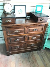 Antique swedish solid wood chest of drawers dresser Kensington, 20895