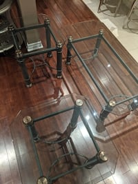 Coffee Table & two side tables