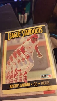 League Standouts trading card