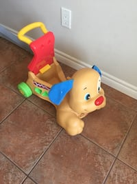 toddler's yellow and blue ride-on toy Burnaby, V5G 1C9