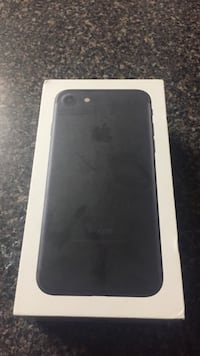 black iPhone 7 plus box Gaithersburg, 20877