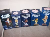 5 NEW YORK YANKEE bobbleheads - NIB Vaughan