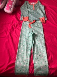 American girl pajamas size small 5/6 With matching doll pjs   Dracut, 01826