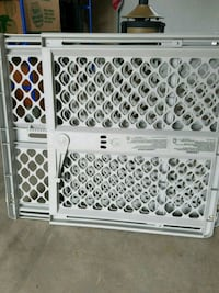 white and black safety gate Lawton, 73507