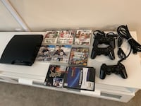 PS3 with all the games shown Elkridge, 21075