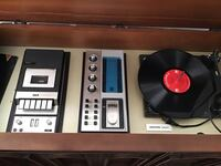 Stereo system tape deck record player price is negotiable Edmonton, T5A 2Y7