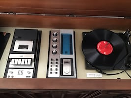 Stereo system tape deck record player price is negotiable