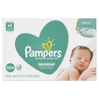 Pampers Baby Wipes Sensitive 16X Refill 1024 Count Toronto