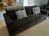Couch&Loveseat/PRICE REDUCED/extra fabric  Manchester Township, 08759