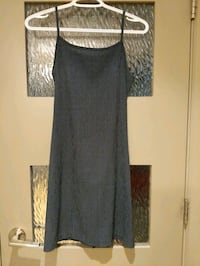 Dark grey dress size small like new hardly worn