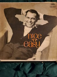 LP vinyl record, Frank Sinatra, Nice and Easy. $20.00