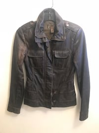 Dark Brown Leather Jacket Toronto, M4R 1G7