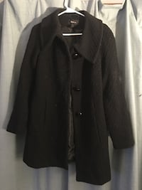 Women's style and company size sm black peacoat