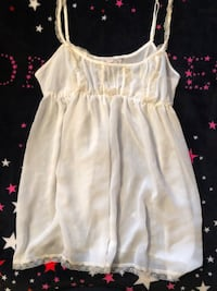 VS nice and cute babydoll white size S