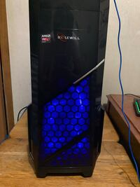 Gaming pc rx5704gb 24gb ram fx6300 240gb hard drive comes with keyboard mouse and monitor