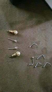 Nose studs and earrings  Des Moines, 50315