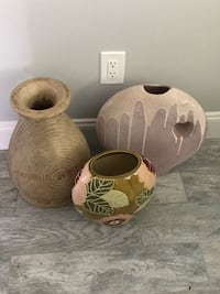 3large decorative vases $15 each Cape Coral, 33914