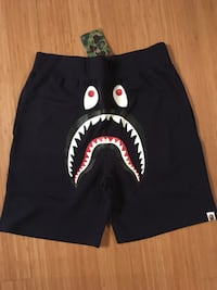 Bape Navy Blue Shark shortd Nanaimo, V9T 1G6