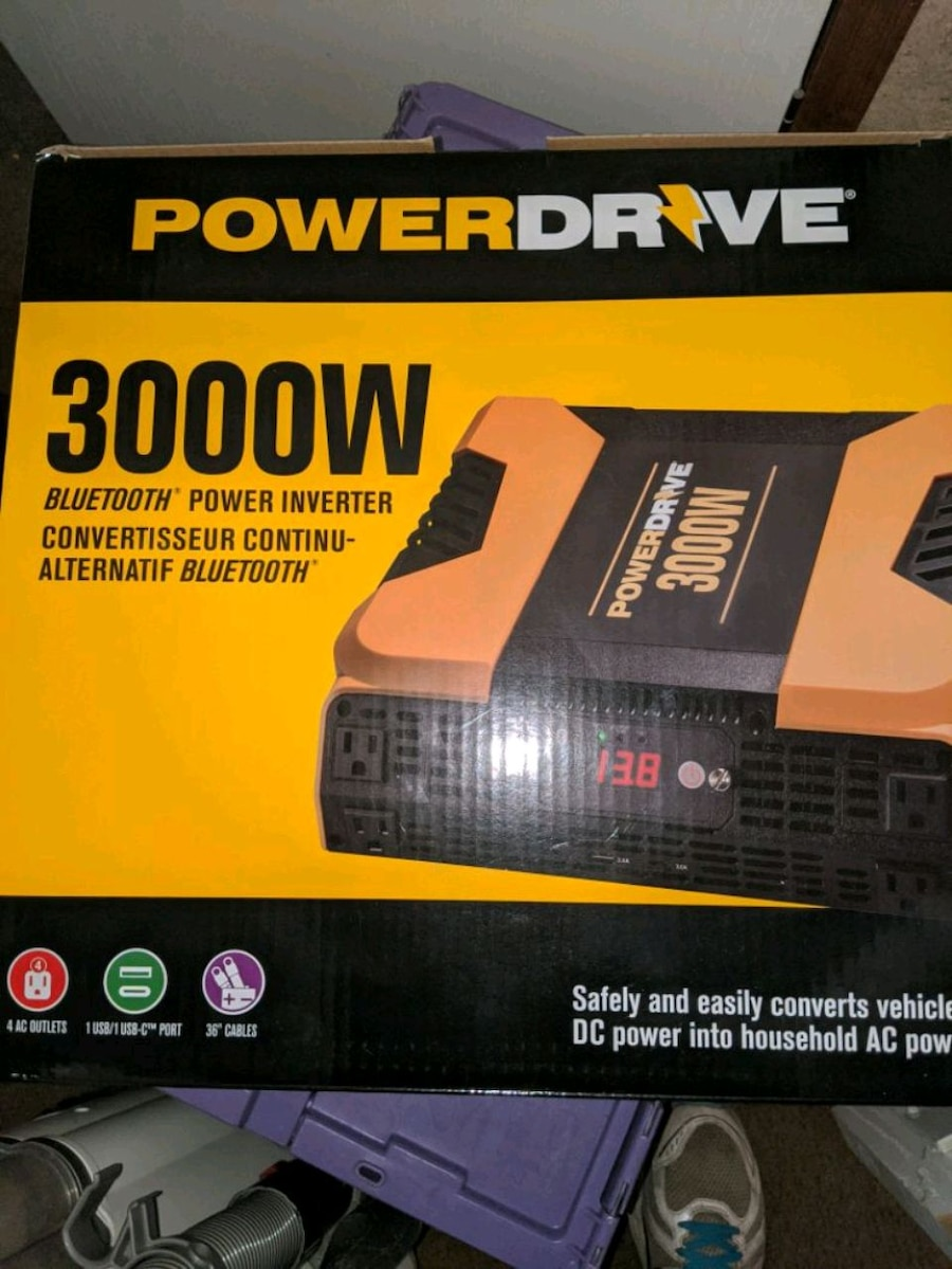 Photo (NEW) 3000 WATT INVERTER!