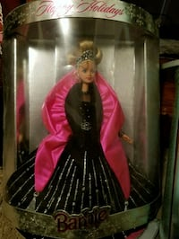 Barbie doll in black and red dress Linville, 22834