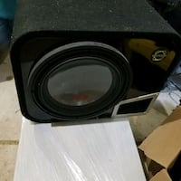 alpine sub in ported bassworx box and mtx jackhammer amp Shelby Charter Township, 48317