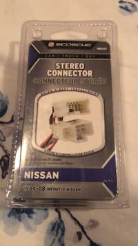 Stereo Connector, NEW.