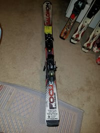 135 cm soloman snow skis  Woodbridge, 22191