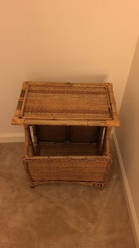 brown wicker 3-tier rack Bethesda, 20817