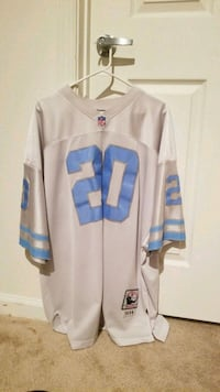 white and blue NFL jersey Odenton