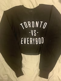 Peace Collective Toronto vs Everybody cropped sweater- Size L Toronto, M5T 2P4