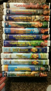 VHS Land Before Time Movies Lancaster, 93534