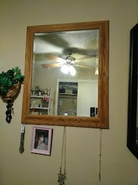 brown wooden framed wall mirror Bakersfield, 93306
