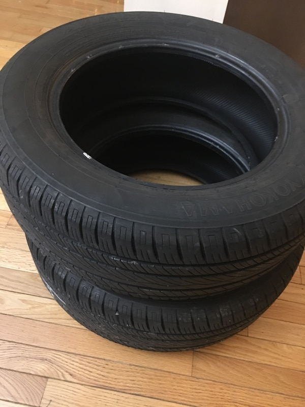 "Two tires ""P [TL_HIDDEN] H"" for sale"