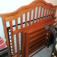 baby's brown wooden crib Tampa, 33614