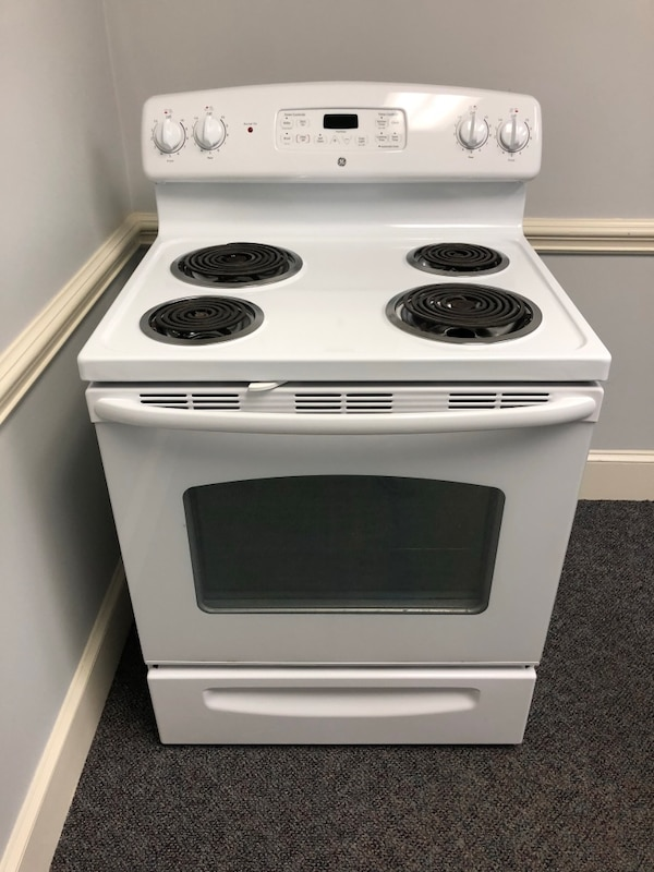 Used Ge White Coil Top Stove For Sale In Mooresville Letgo