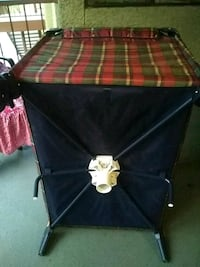 red and black plaid camping chair Tucson, 85711