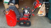 Black and red snowblower Anchorage, 99504
