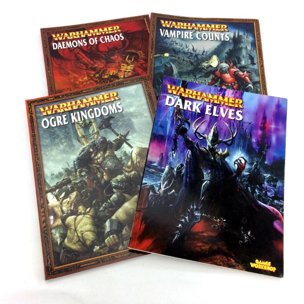 Lot 4 Warhammer 40K Armies Books Set 4th 5th Edition Series 40000 Collection