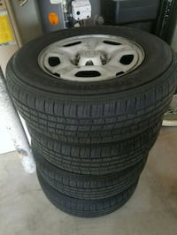4 tires w/5 bolt Toyota wheels Las Vegas, 89149