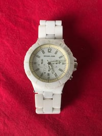 round white chronograph watch with silver link bracelet Kissimmee, 34747