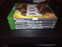 Xbox One spiele: Doom,Halo 5,Halo MCC,Just Cause 3
