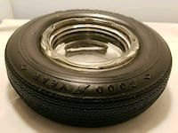 Vintage Good Year tire ashtray Andover, 06232