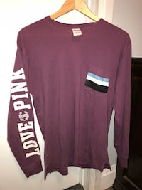 VS PINK long sleeve purple shirt Maple Ridge, V2X 7X8
