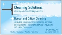 HOUSE and OFFICE CLEANING Mississauga