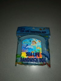 3-D SEA LIFE SNANWICH BOX FROM BRITE CONCEPTS NEW  Naperville, 60563